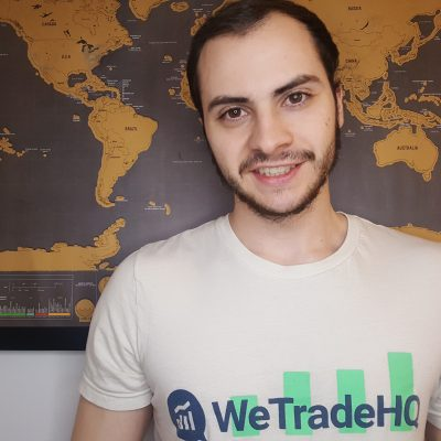 Picture of Jacob Amaral developer of WeTradeHQ